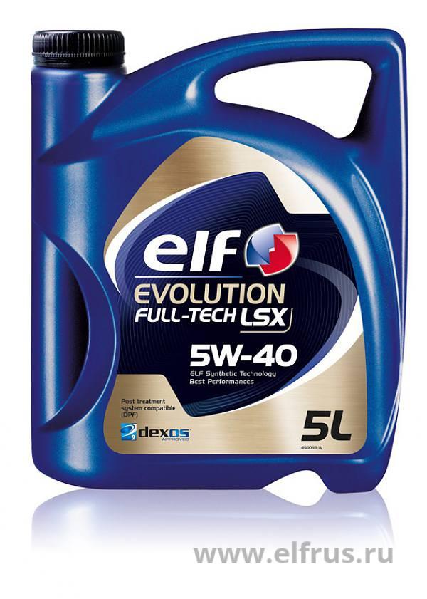 "Масло моторное синтетическое ""Evolution Full-Tech LSX 5W-40"", 5л"