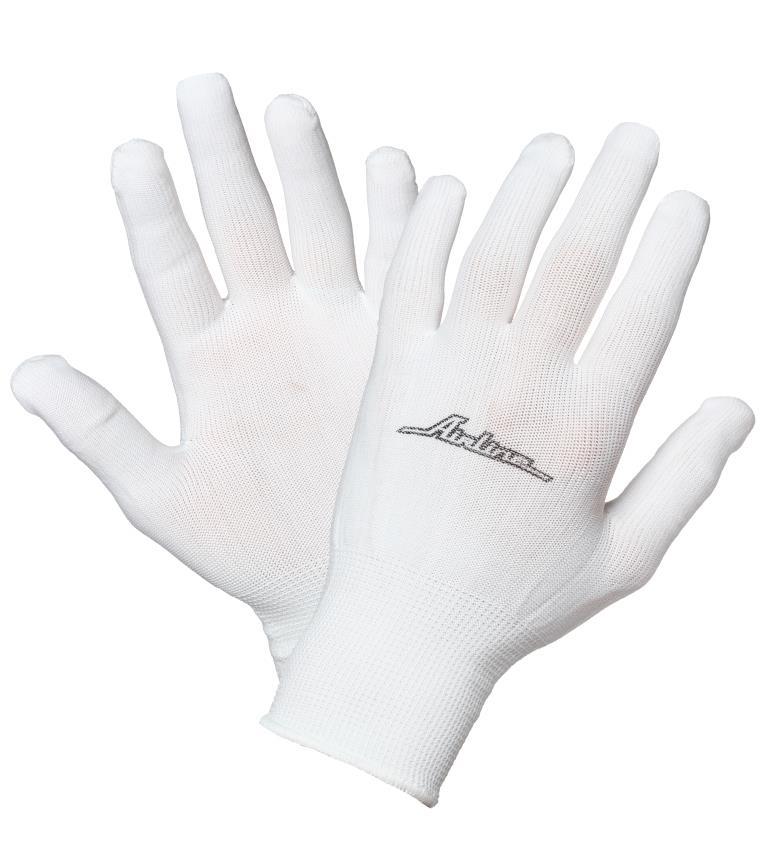 Перчатки нейлоновые (без покрытия) (AWG-NS-12)