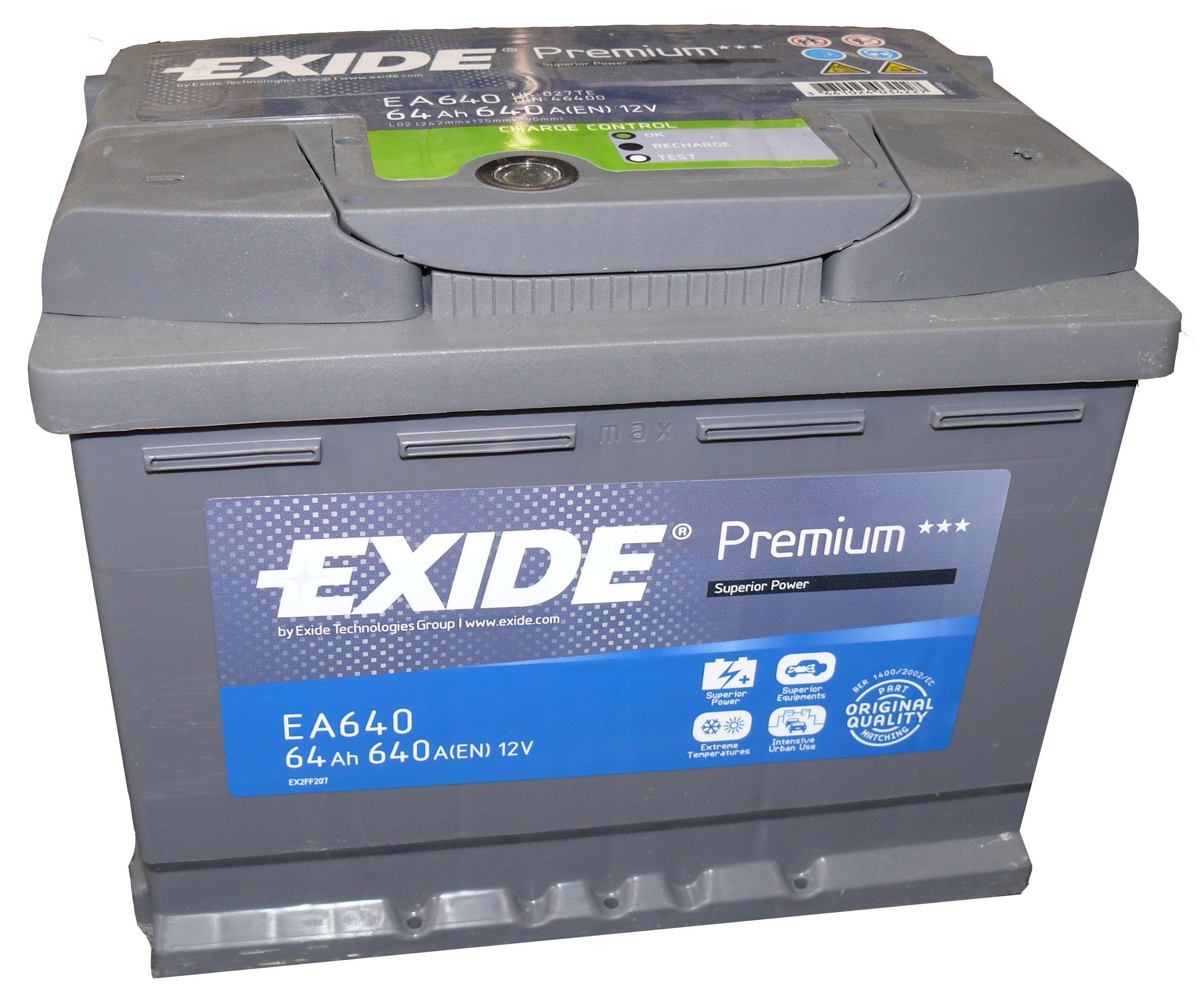 EXIDE _EA640