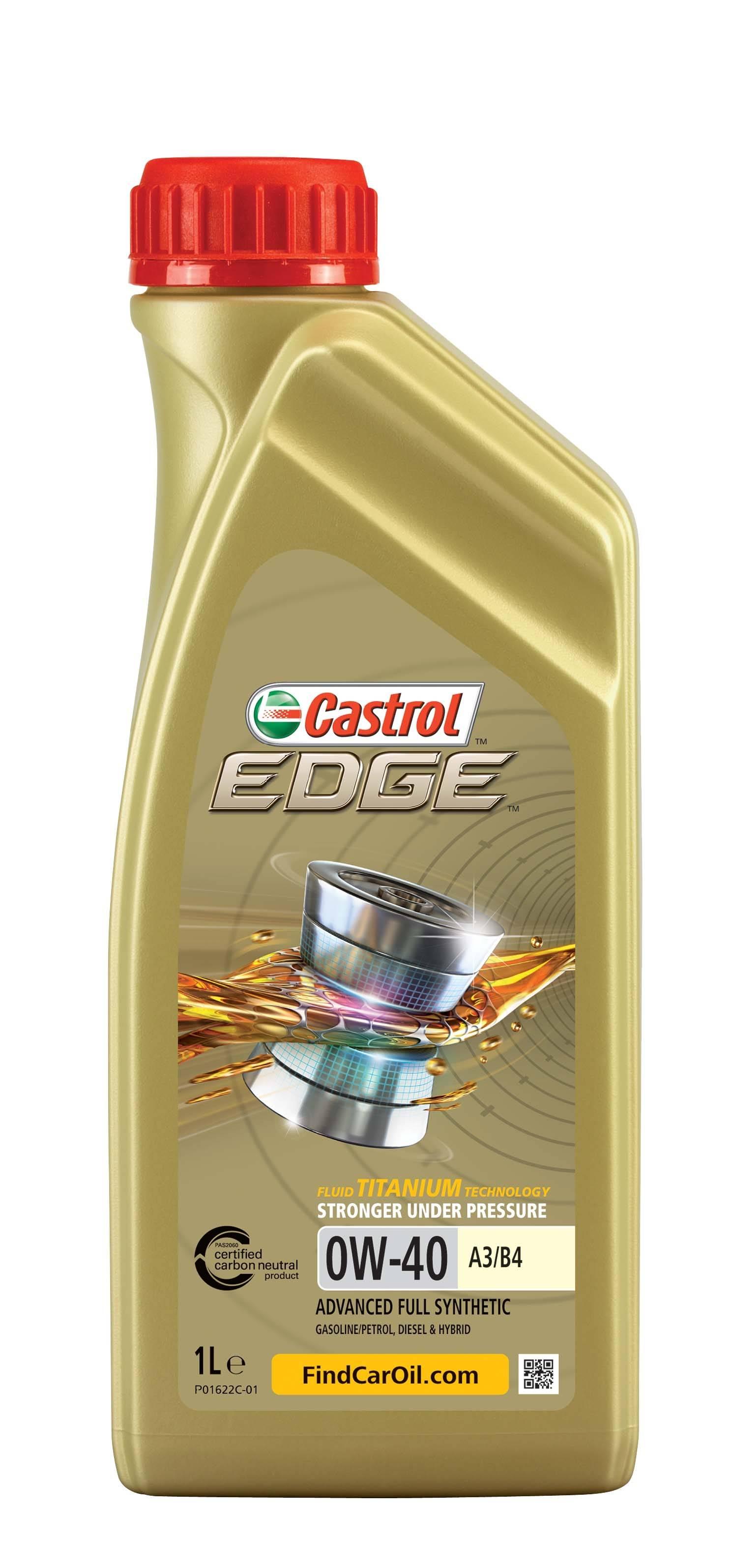 EDGE A3/B4 TITANIUM FST Castrol 156E8B