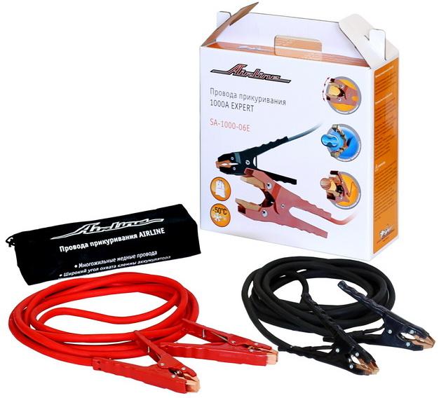 Провода прикуривания 1000A EXPERT в сумке (5м, 12/24В) (SA-1000-06E)