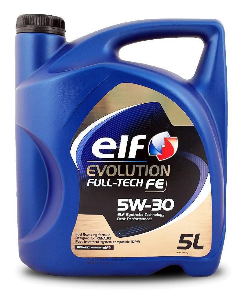"Масло моторное ""ELF Evolution Full-Tech FE 5W-30 ACEA C4"", 5л"