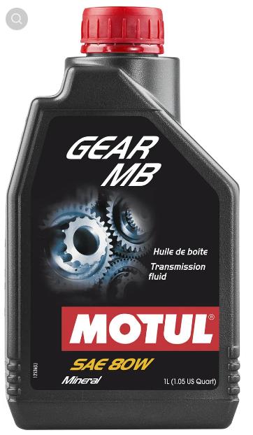 Gear mb 80w 12x1l