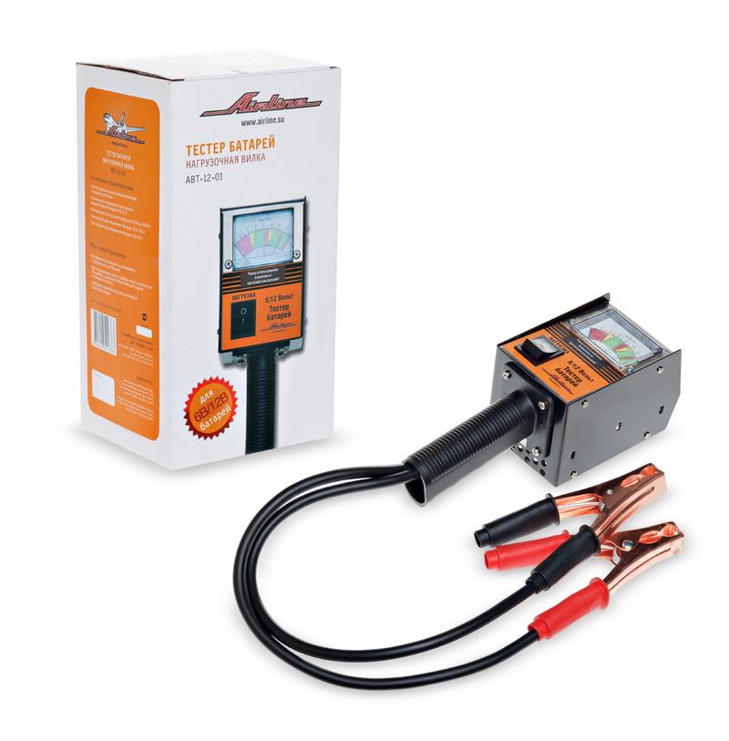 Вилка нагрузочная (Тестер батарей) (ABT-12-01)