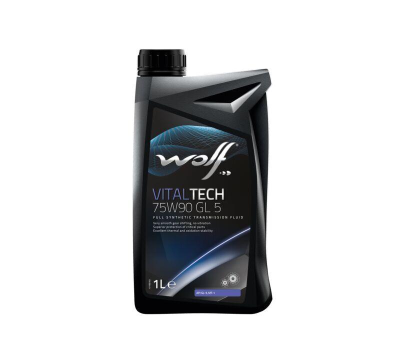 """Масло трансмиссионное синтетическое """"VitalTech GL-5 75W-90"""", 1л"""