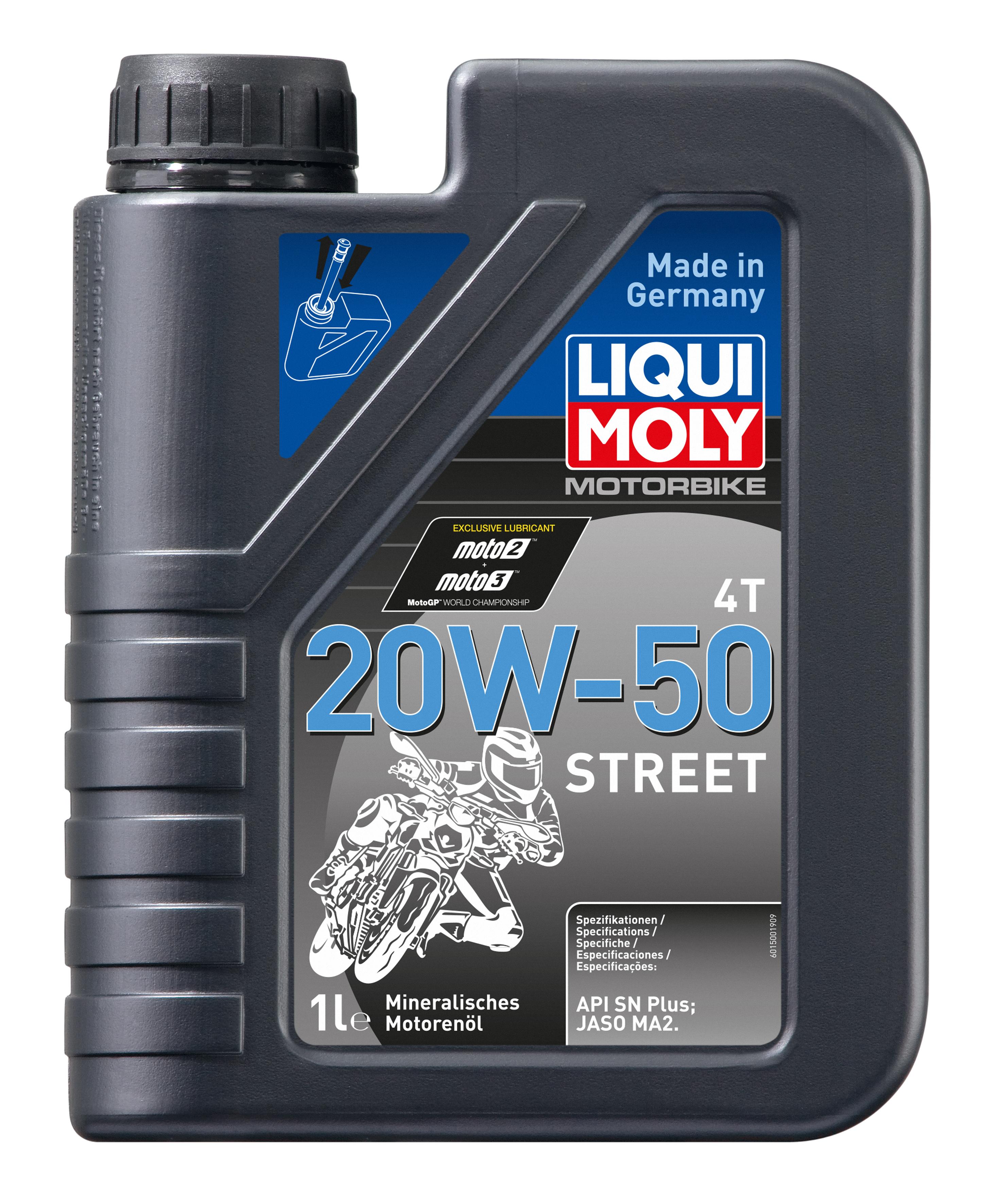 Liqui Moly Motorrad 4T SAE 20W-50