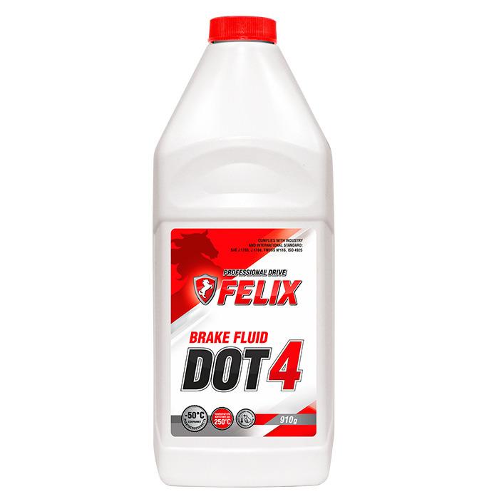 жидкость тормозная DOT4 910 гр.