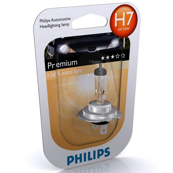 лампа H7 12V (55W) + 30% блистер