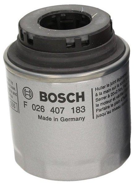 Фильтр масляный, BOSCH, F026407183