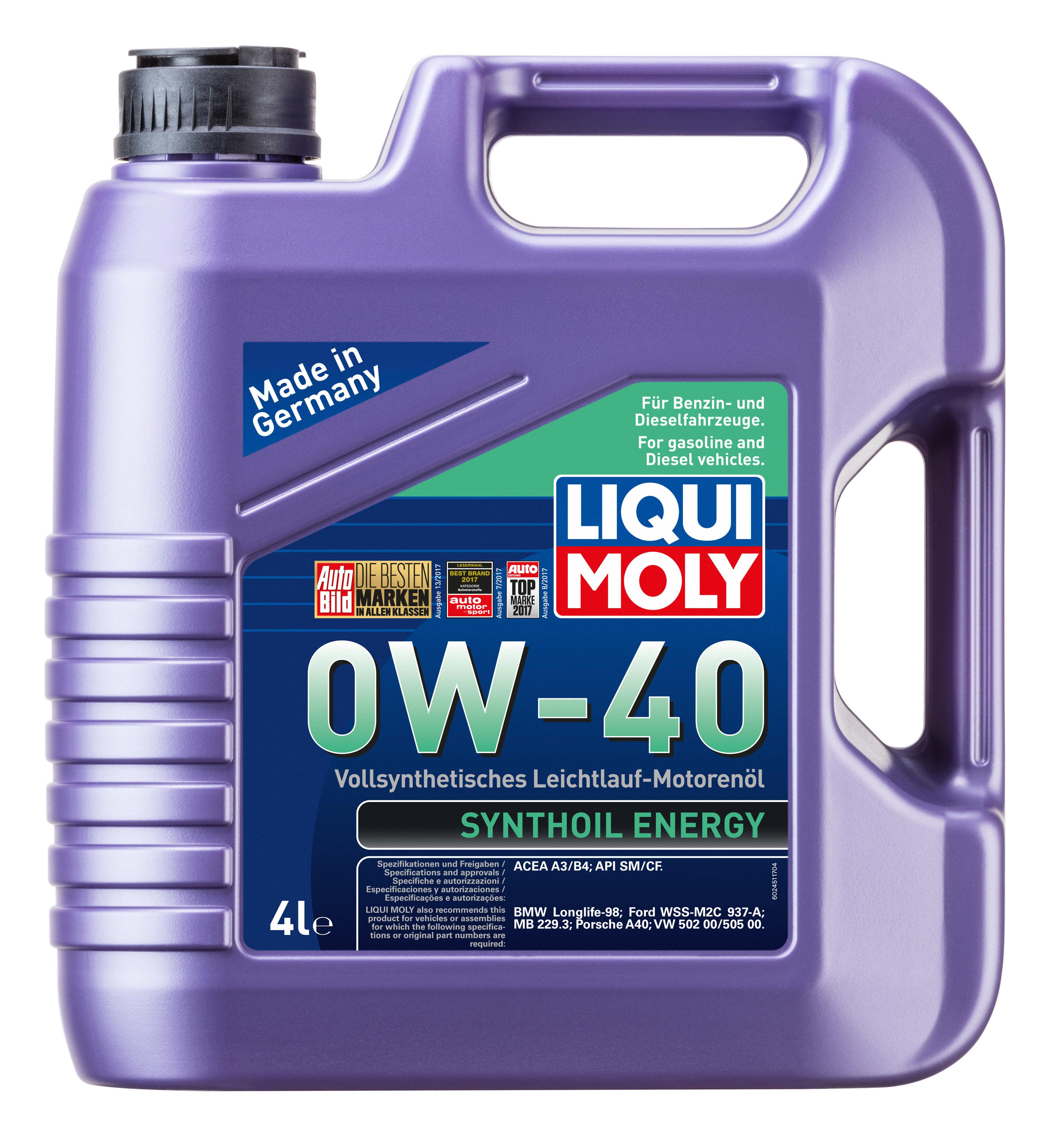 Liqui Moly Synthoil Energy SAE 0W-40