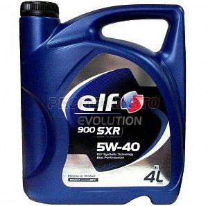 "Масло моторное ""ELF Evolution 900 SXR 5W-40 ACEA A3/B4; API SN/CF"", 4л"