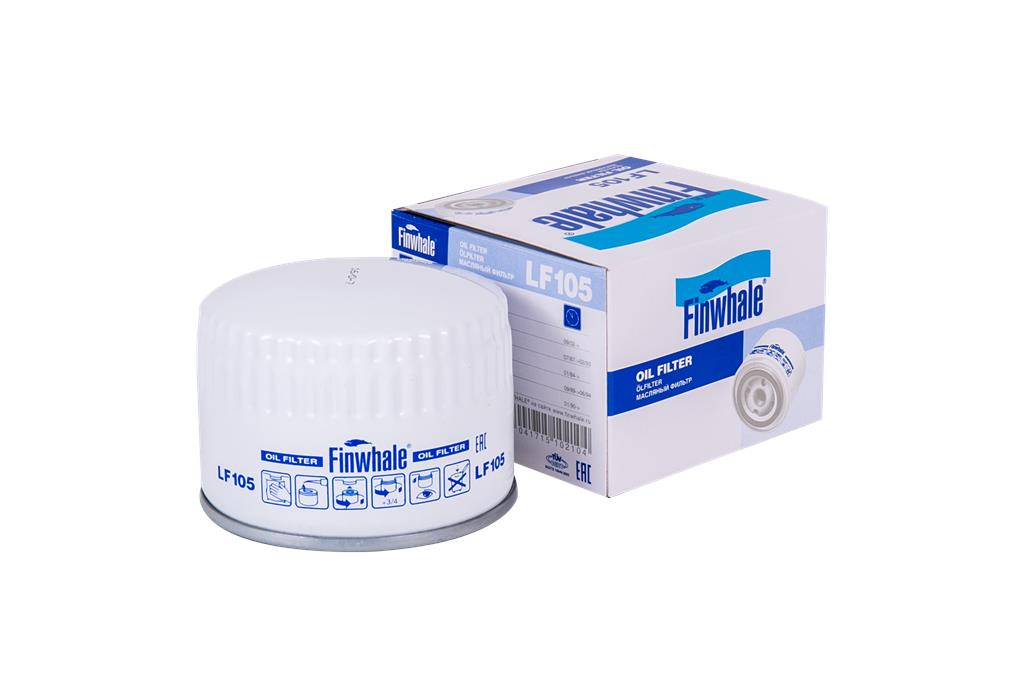 Фильтр масляный ВАЗ 2105-08, Vesta, X-Ray LF105 (20) Finwhale
