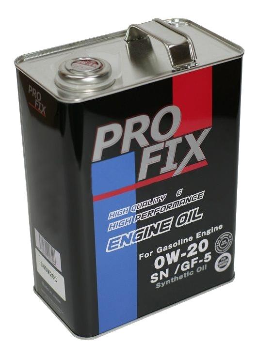 "Масло моторное ""PROFIX ENGINE OIL SN 0W-20 API SN;GF-5"", 4л полный аналог TOYOTA"