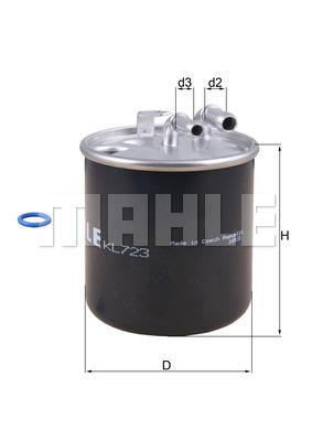 Фильтр топливный 906 OM651