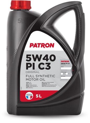 Масло моторное синтетическое 'ORIGINAL PI C3 5W-40', 5л
