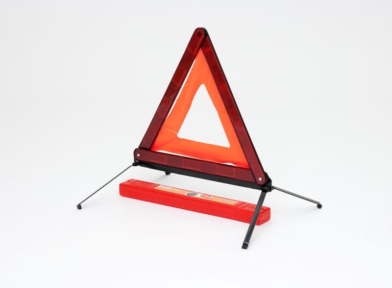 Знак аварийной остановки с металлическим основанием (ГОСТ Р) в пласт.кейсе (AT-03)