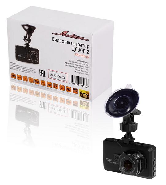 Видеорегистратор FHD 1080p ДОЗОР 2 (AVR-FHD-02)