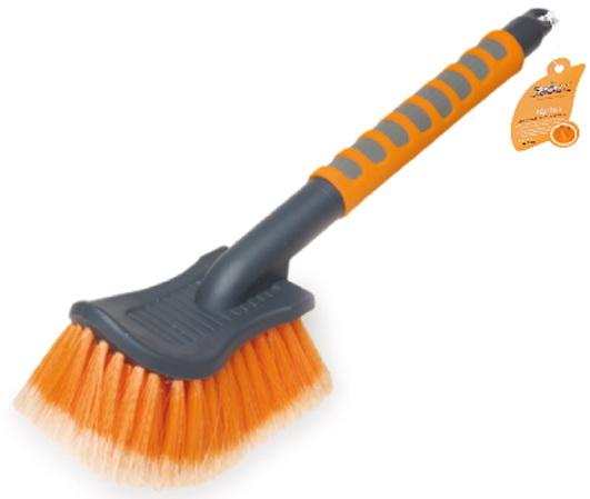Щетка для мытья с мягкой распушенной щетиной большая (40 см)  (AB-I-04)