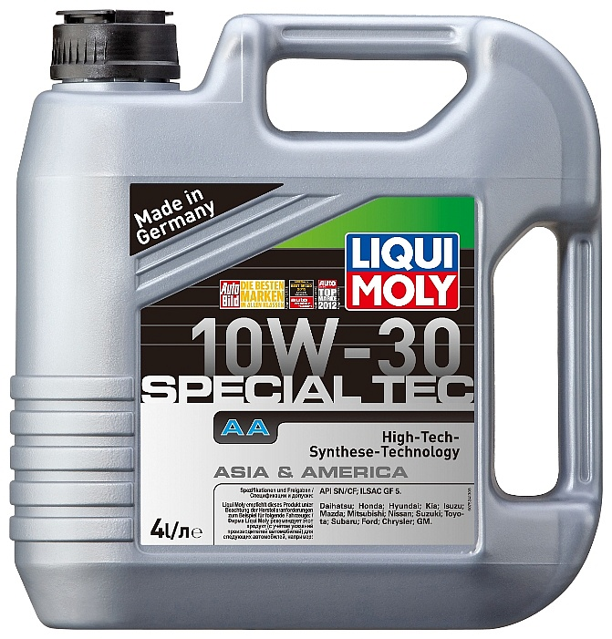 Liqui Moly Leichtlauf Special AA SAE 10W-30