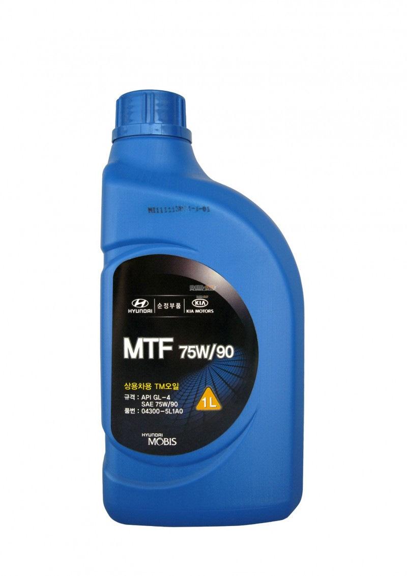 масло трансмиссионное 75W90 GL4  1л