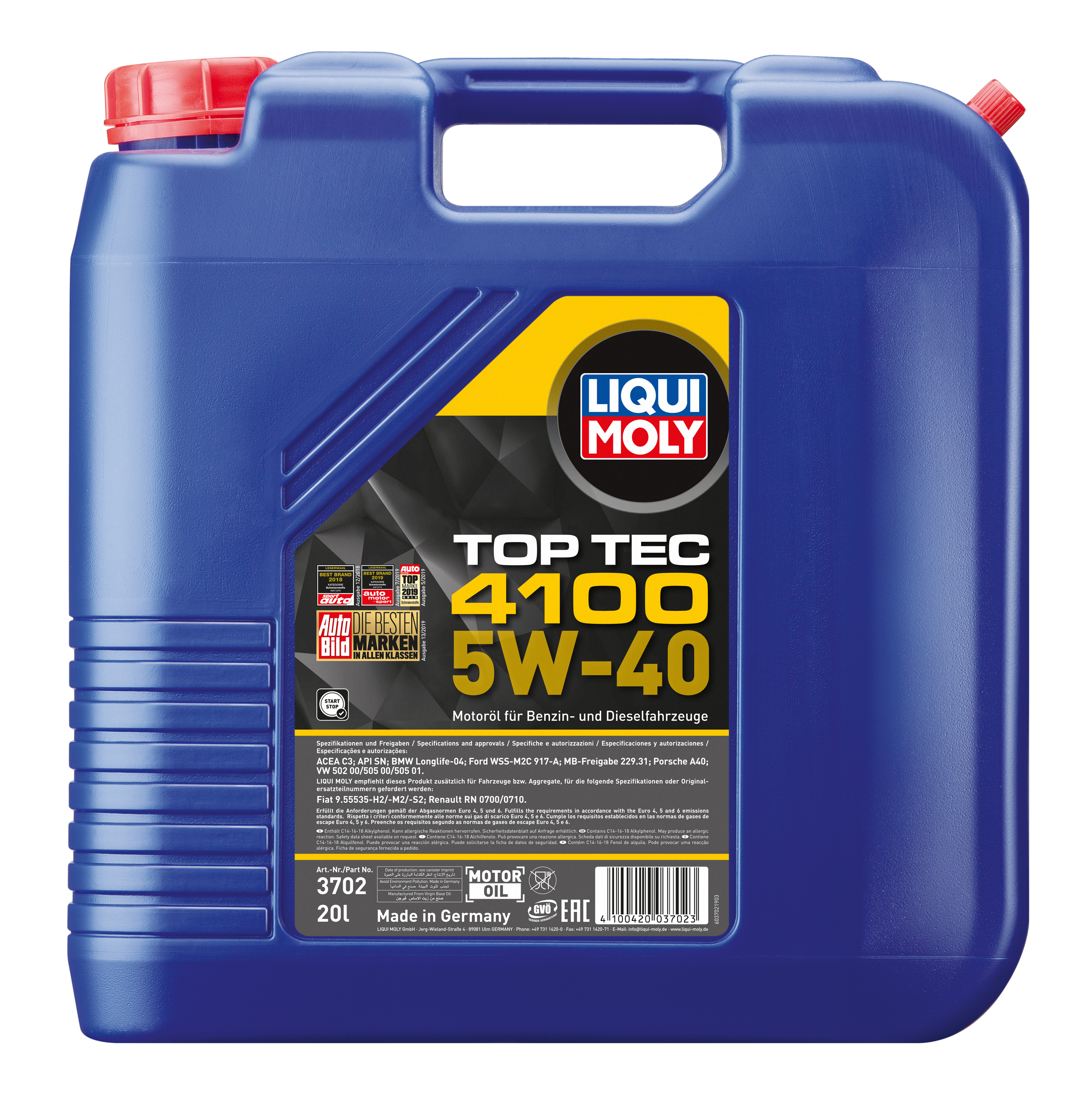 Liqui Moly Top Tec 4100 SAE 5W-40