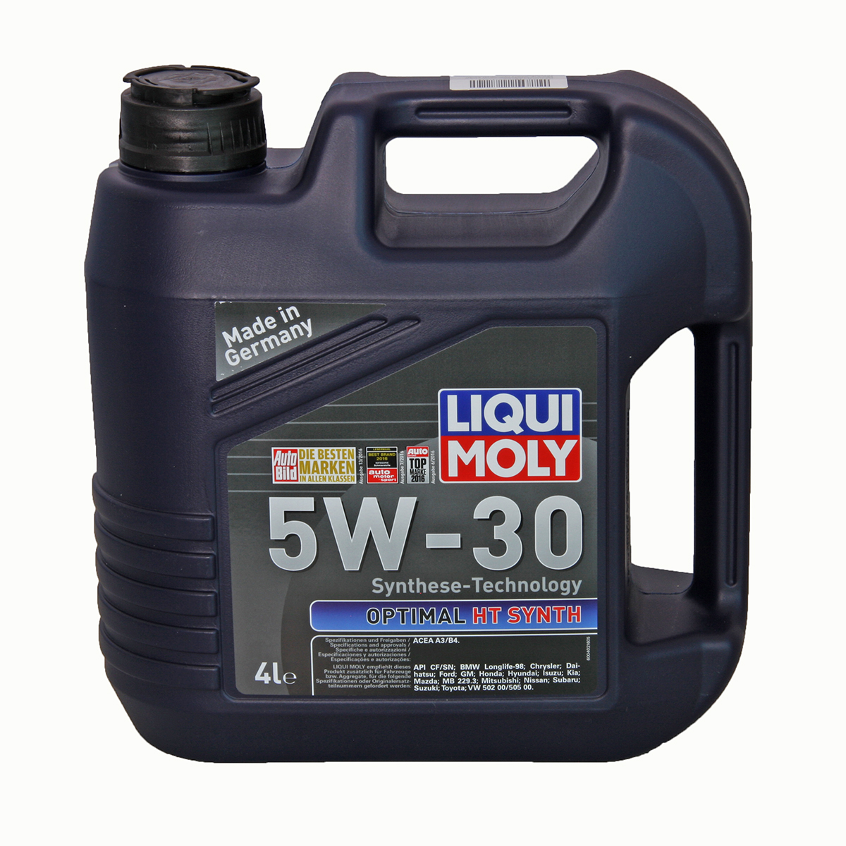 "Масло моторное ""LIQUI MOLY Optimal HT Synth 5W-30 ACEA A3/B4; API CF/SN"", 4л"