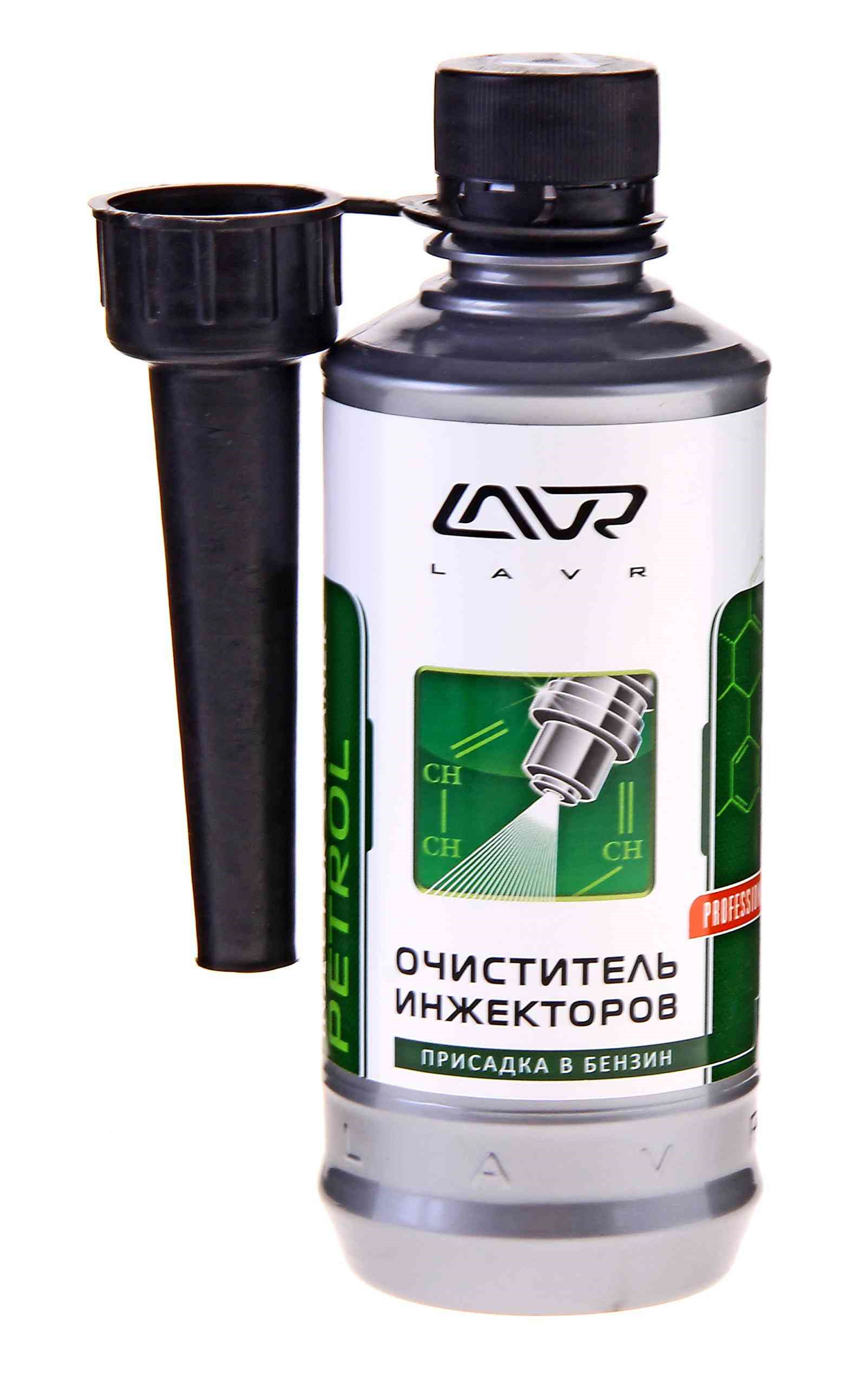 очиститель инжекторов присадка в бензин на 40-60л с насадкой 310мл