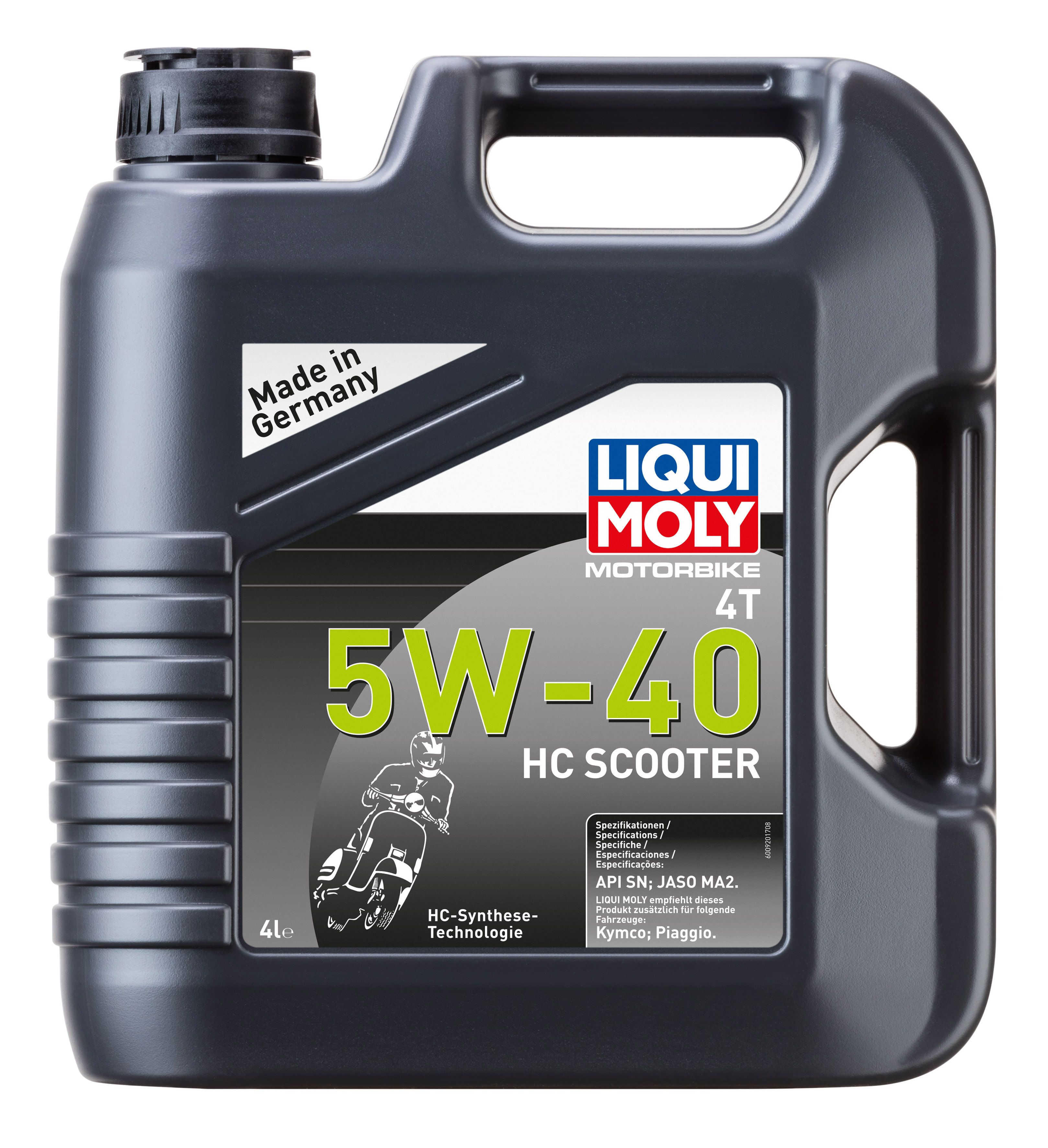"Масло моторное синтетическое ""Motorbike 4T HC Scooter 5W-40"", 4л"