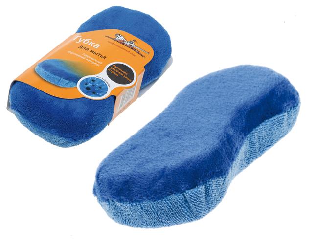 """Губка для мытья из микрофибры """"Восьмерка"""" (24*11 см) (AB-K-01)"""