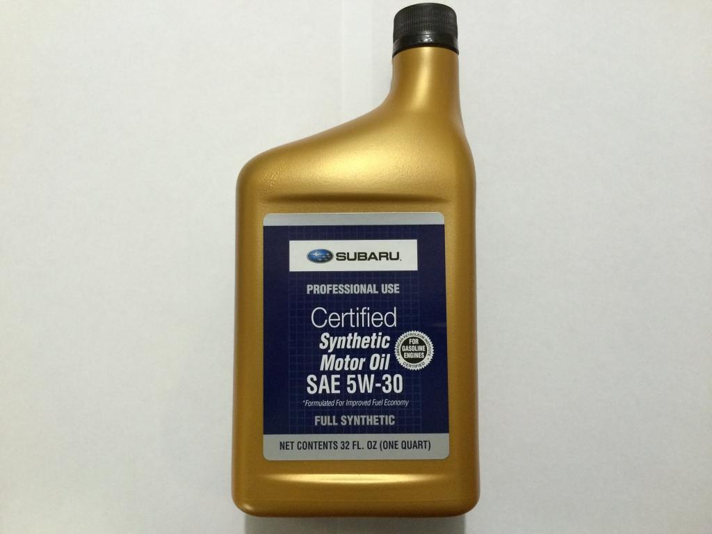SUBARU Synthetic SAE (0.946л)