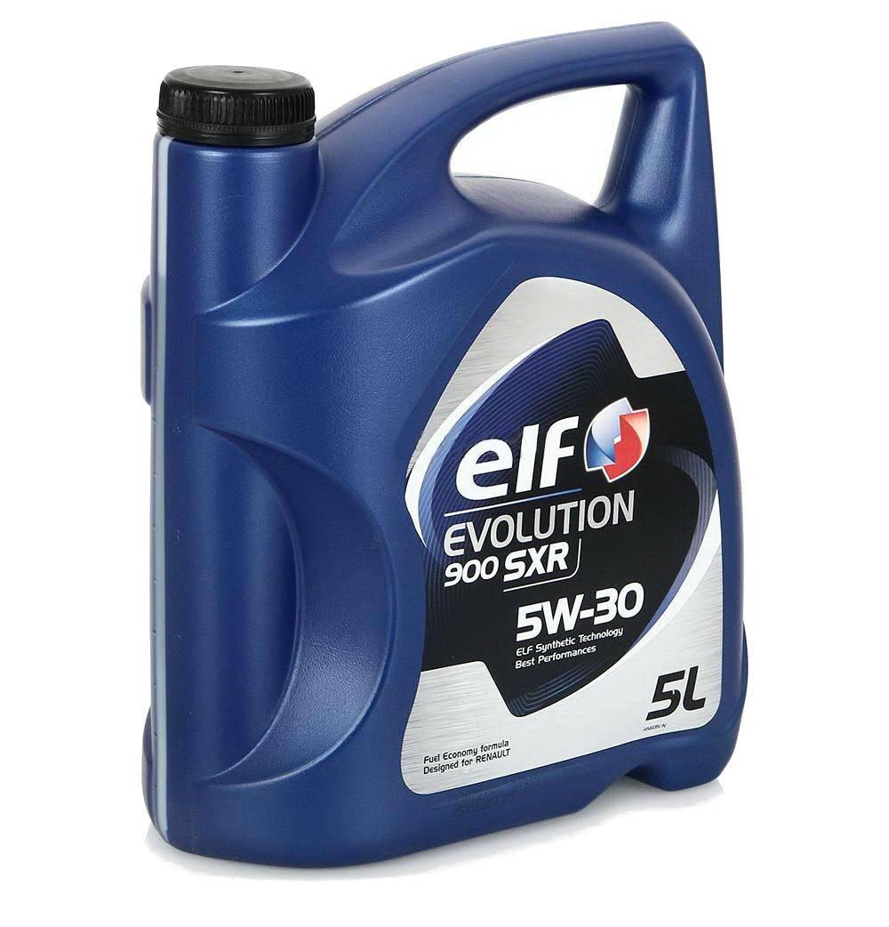 масло моторное ELF EVOLUTION 900 SXR 5W30  5л