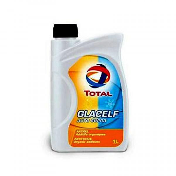 Антифриз TOTAL Glacelf Auto Supra -69 C (1л) оранжевый