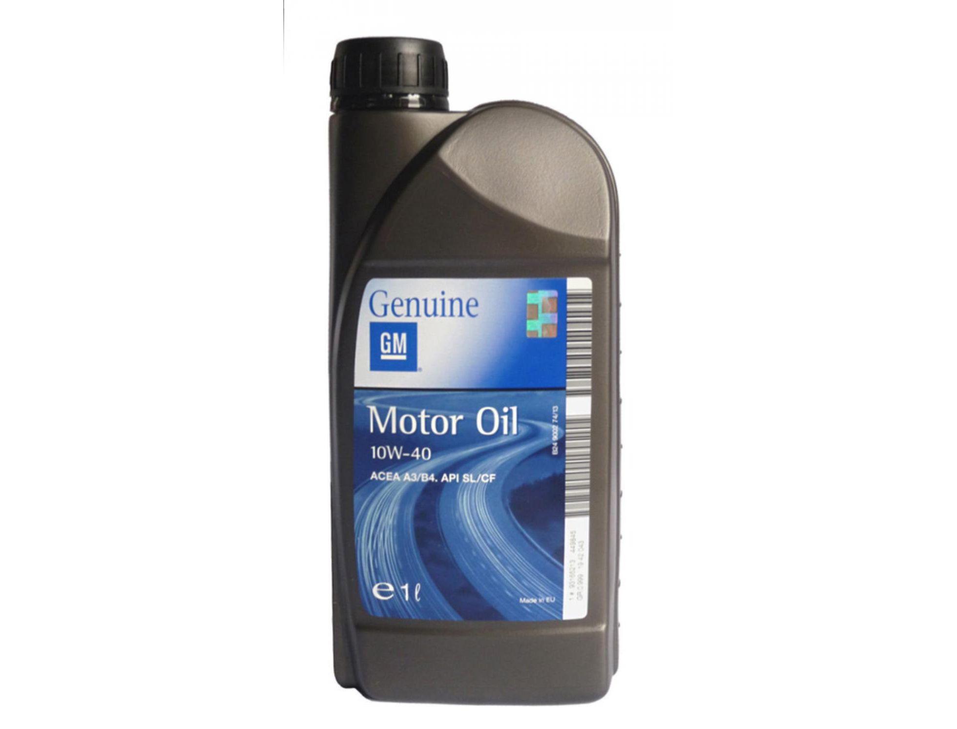 General Motors Motor Oil Semi Synthetic