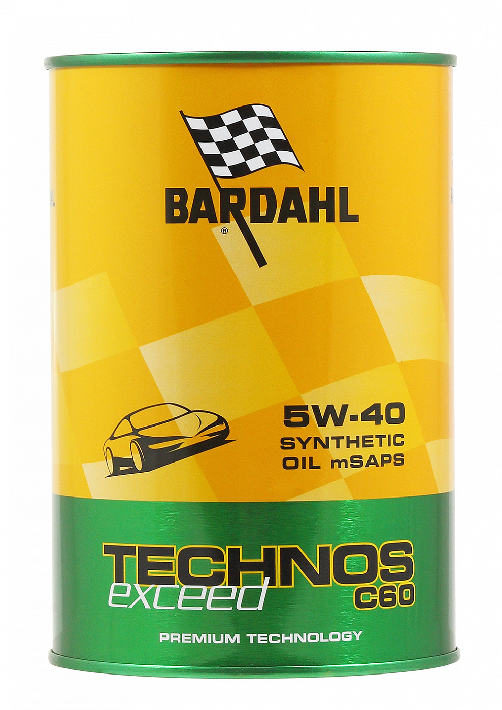 Bardahl TECHNOS MSAPS Exceed C60 5W-40